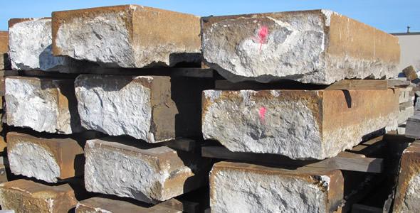 Granite Foundation Blocks : Reclaimed granite blocks olde new england
