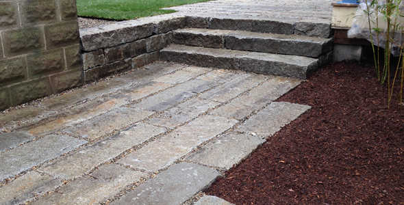 Reclaimed Junior (Slope) Curb from New England | Olde New