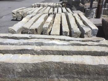 Reclaimed Granite Products – Jumbo Cobblestones | Olde New