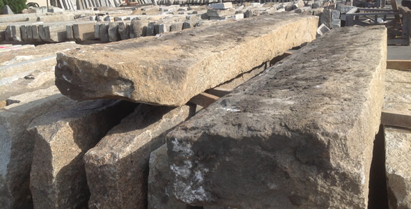 Reclaimed Standard Granite Curb From New England Olde